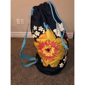 Vera Bradley Laundry Bag with strap